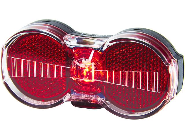 Busch + Müller Toplight Flat S Senso Baglygte, rød
